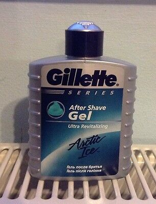 GILLETTE Series Arctic Ice After Shave Gel 100ml BRAND NEW