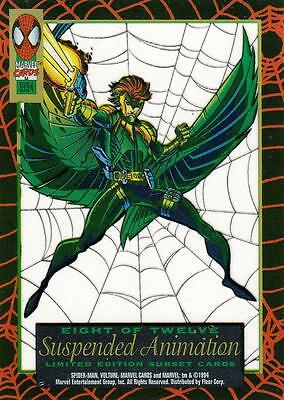 Marvel Cards 1994 Suspended Animation card 'Vulture' card 8 of 12