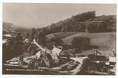 POSTCARD-SCOTLAND-BALLINDALLOCH-RP. The Mill of Tomore.