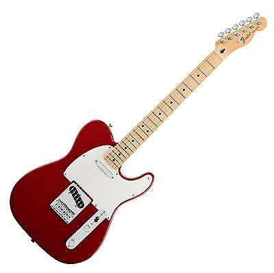 Fender Tele Telecaster Standard Mn Car E-Gitarre Electric Guitar Candy Apple Red