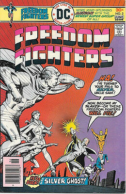 Freedom Fighters Comic Book #2, DC Comics 1976 VERY FINE