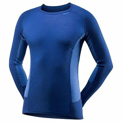 Devold Sport Merino Wool Long Sleeve Thermal Base Layer Cycling Vest Top Large