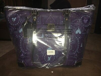 2017 Tote Disney Dooney And Bourke Purple Mickey Sorcerer NWT SOLD OUT