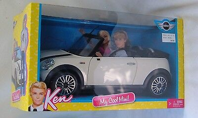 Mattel Barbie And Ken My Cool Mini Convertible Car With Dolls New In The Package