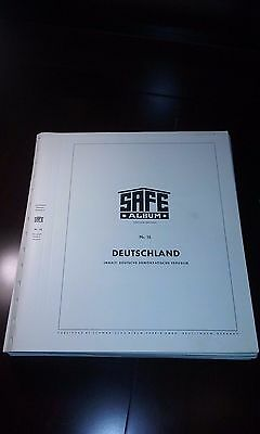 """SAFE Dual """"DDR"""" HINGLESS Album Pages, 1949-1972 116 Immaculate pages~"""