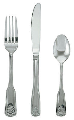 Update SH-505-N 1dz Shelley Stainless Steel Dinner Forks Flatware