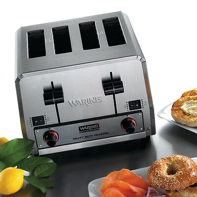 Waring WCT850 Switchable 4 Slot Toaster Heavy Duty 360 Slices/hr 208v