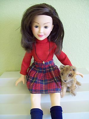 "Baby Sitters Babysitters Club Mary Anne Doll 18"" Kenner Friend 1990's"