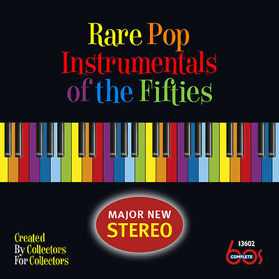 Various Artists - Rare Pop Instrumentals of the Fifties [New CD]