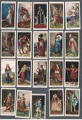 1929 Wills's Cigarettes English Period Costumes Tobacco Cards Complete Set of 50
