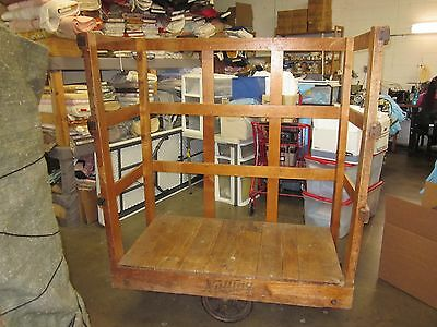 Nutting Vintage Industrial Cart   GOOD CONDITION