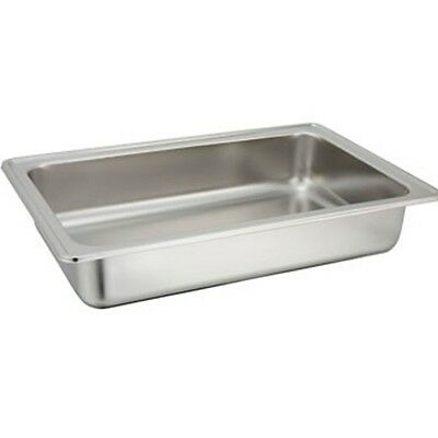 "Winco C-WPF Full Size 4"" Deep Water Pan for Chafing Dishes"