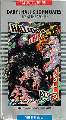 Daryl Hall & John Oates Live at the Apollo 1985 VHS w/ Ruffin & Kendrick New