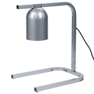 Nemco 6000A-1 Single Bulb Adjustable Height Countertop Bulb Warmer