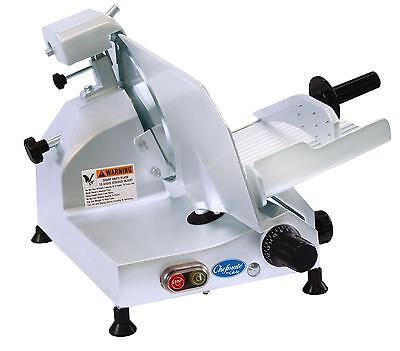 "Globe C10 10"" Chefmate Manual Electric Food Slicer Light Duty .25 HP"
