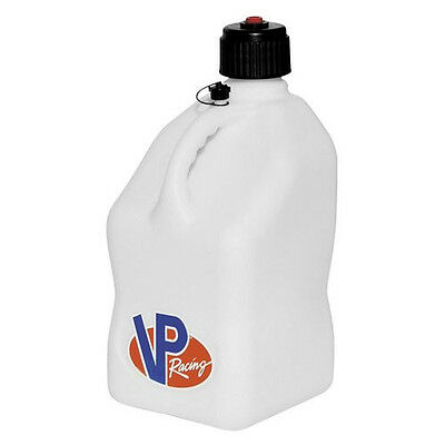 Fuel Jug Can Utility Gas Water Motorsport Container White Vp Racing Imca Square