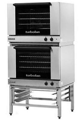 Moffat E28M4/2 Electric Dble Convection Oven Full Size 4 Pan w/ Fixed Stand