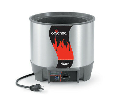 Vollrath 72021 Cayenne 11 Qt Round Rethermalizer Heat N Serve 800W