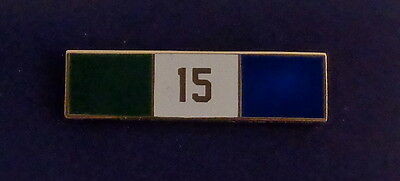 15 YEARS OF SERVICE Uniform Commendation/Award Bar police/sherifff/fire/EMS