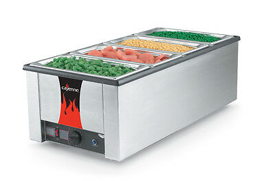 Vollrath 72050 Cayenne 4/3 Rectangular Rethermalizer Heat N Serve 1600W