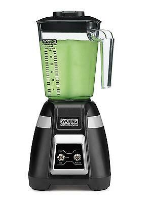 Waring BB300 Commercial 2 Speed 1 HP Medium Duty Bar Blender w/ 48oz Jar
