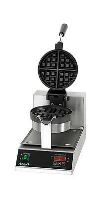 "Adcraft BWM-7/R 7"" Round Electric Belgian Waffle Maker"