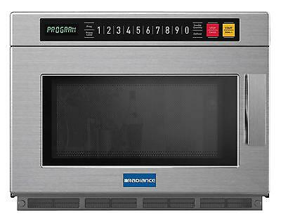 Radiance TMW-1200HD Commercial 0.9 CuFt Programmable Microwave Oven S/S 1200w