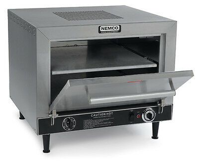 "Nemco 6205 Counter Top Electric Pizza Oven Double 19"" Stone Decks"
