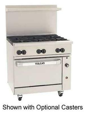 "Vulcan 36C-6B Endurance 36"" Range with 6 Burners and Convection Oven"