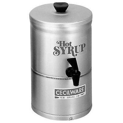 GMCW SD1 Stainless Steel Syrup Warmer / Dispenser - 1 Gal. Capacity