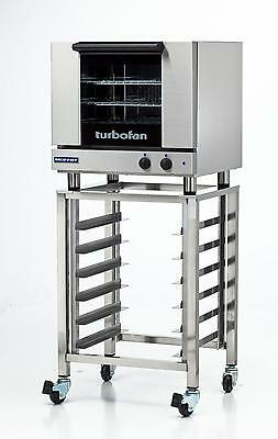 Moffat E23M3/SK23 Electric Convection Oven Half Size 3 Pan w/ Mobile Stand