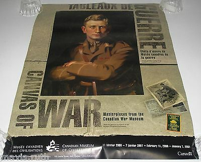 Poster Canvas of War Major O M Learmonth The Victoria Cross by James Quinn.