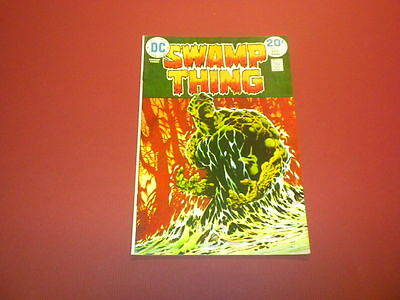 SWAMP THING #9 DC Comics 1974 WRIGHTSON high grade
