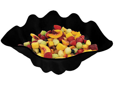 Update Black Plastic 5Qt Shell Shaped Salad Bowls - Ssb-5B