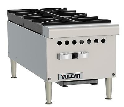 "Vulcan VCRH12 Medium Duty 12"" Dual Burner Countertop Hot Plate"