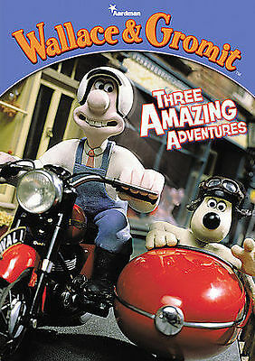 Wallace and Gromit: Three Amazing Advent DVD