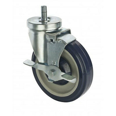 Focus Foodservice FTC121351 Set of Four 5in Casters With Brakes