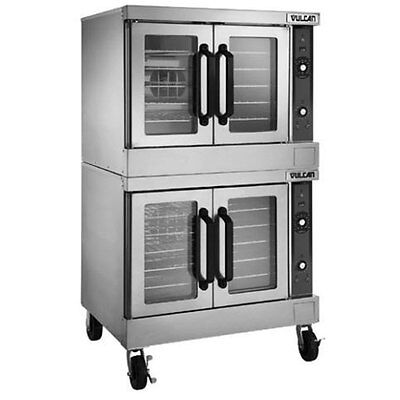 Vulcan VC44GD VC-Series Std. Depth Double Stack Gas Convection Oven