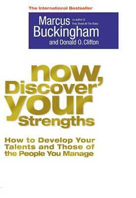 Now, discover your strengths by Marcus Buckingham (Paperback)