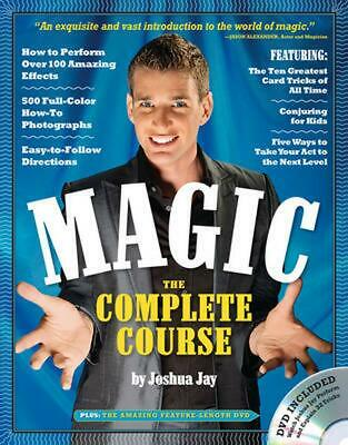 Magic: The Complete Course [With DVD] by Joshua Jay (English) Paperback Book Fre