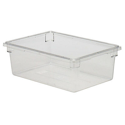 Cambro 18269CW135 Camwear® 18x26x9 Clear 13 Gallon Food Storage Container