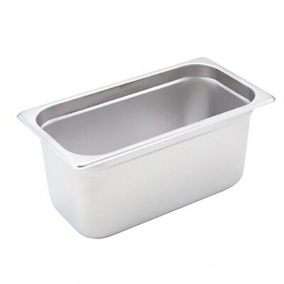 Winco SPJH-306 S/s 1/3 Size Steam Table Pan Heavy Weight