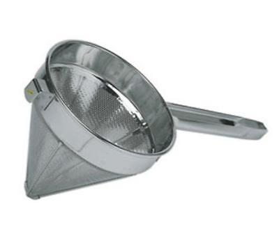 "Update CC-12C 12"" S/s Coarse Mesh China Cap Strainer"