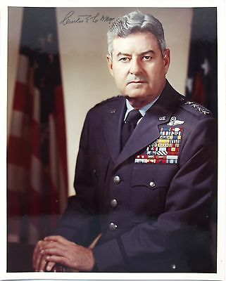 General Curtis Lemay WWII Commander Chief Of Staff Air Force Signed Photograph