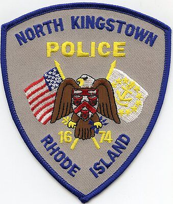 North Kingstown Rhode Island Ri Police Patch