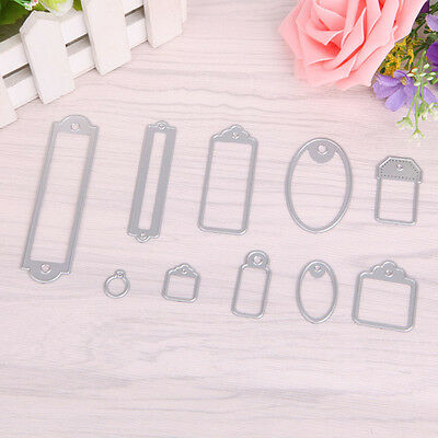 New Metal Cutting Dies Stencil For DIY Scrapbooking Embossing Paper Card Decor