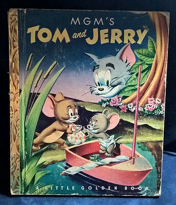 A Little Golden Book ~ Mgm's ~ Tom And Jerry ~ 1951