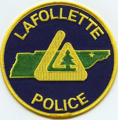 Lafollette Tennessee Tn Police Patch
