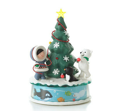2012 Hallmark FROSTY FRIENDS Magic Cord Ornament TRIMMING THE TREE *Priority Shp
