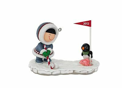 2012 Hallmark FROSTY FRIENDS #33 Ornament MINIATURE ICE GOLF *US Priority Ship*